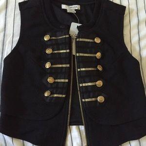 Vintage dead stock band vest